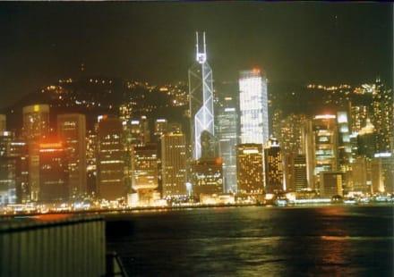 Hong Kong -  Hong Kong Island bei Nacht - Stadtrundgang Hongkong Island
