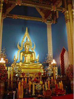 Wat Benchamabophit-Tempel -Buddha - Wat Benchamabopit Marmortempel