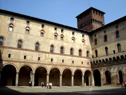 Castello Sforzesco - 4. bis 15. Jahrhundert  (2) - Castello Sforzesco