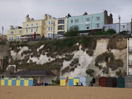 Häuser auf der Küste - Broadstairs