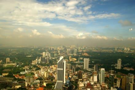 Aussichtspunkt  - Menara Kuala Lumpur (Fernsehturm)