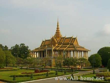 Tanz halle vom Königspalast in phnom penh - Königspalast