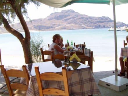 Plakias - Restaurants am Hafen