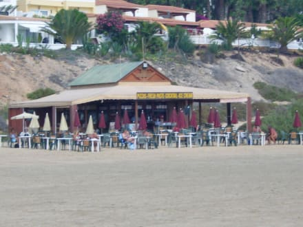 Bar am Strand - Strand Costa Calma