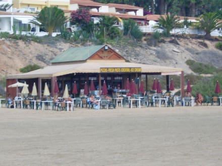 Bar am Strand - Strand Costa Calma