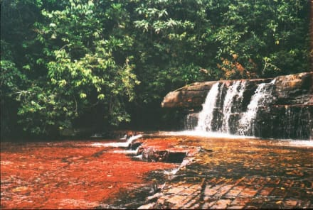 Quebrada de Jaspe - Jaspis Wasserfall