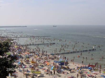Strand/Küste/Hafen - Strand Stolpmünde/Ustka