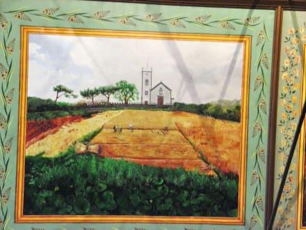 Deckengemälde in der Kirche von Ponta do Pargo - Kirche von Ponta do Pargo