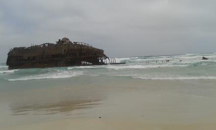 Gr.Boa Vista Tour mit Andrea Kai - Schiffswrack Cabo Santa Maria