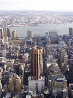 Aussicht vom Empire State Building  - Empire State Building
