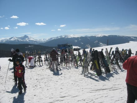 Rastplatz in 3500 Meter - Vail Ski Resort