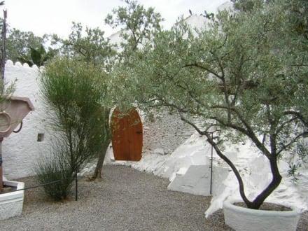 Garten des Dali Hauses - Haus von Dali in Port Lligat