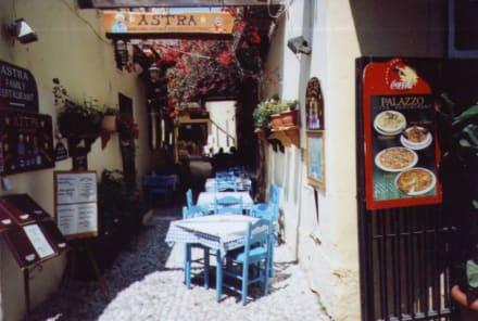 Taverne - Altstadt Rhodos Stadt