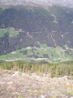 Blick ins Tal - Wandern Ultental