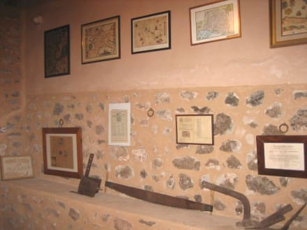 Miramar - der Kartenraum des Erzherzogs - Monestir de Miramar