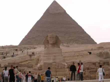 Kairo, Pyramide(n) von Gizeh - Pyramiden von Gizeh