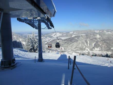 Hündle Bergbahn - Skigebiet - Bergbahn Hündle