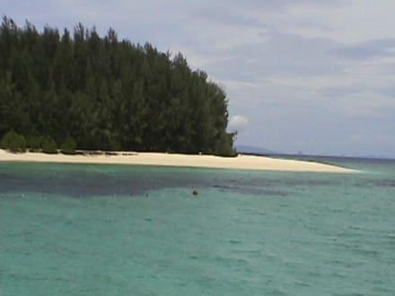 Bamboo Island ein schöner Strand - Bamboo Island