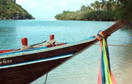 Einsamer Strand im Ang Thong Marine National Park - Ang Thong Marine National Park