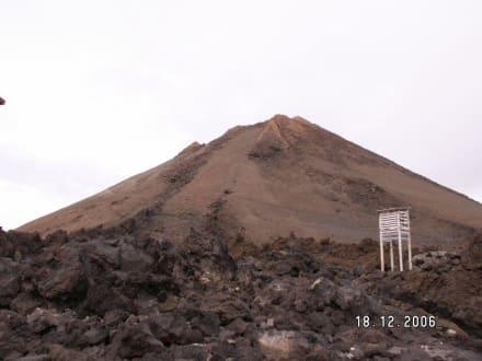 Ansicht von unten - Teide Nationalpark
