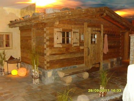 Sauna im Spa-Bereich - Hotel Alpin Spa Tuxerhof