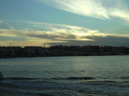 Abendsonne auf der See - Ausflug nach El Gouna