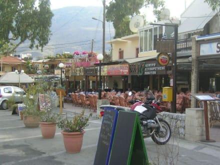 Dorfplatz von Georgioupolis - Marktplatz Georgioupolis