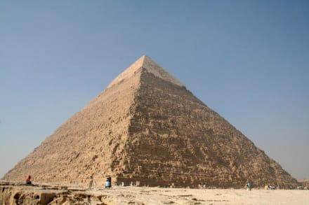 Gizeh, Chephren-Pyramide - Pyramiden von Gizeh