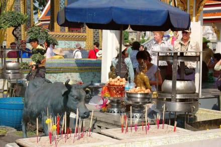 Opfergaben - Wat Pho