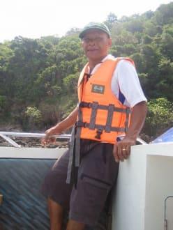 Koh Talu- Sing, unser Fahrer und Führer - Koh Talu