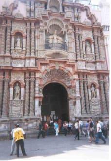 Iglesía de la Merced in Lima - Stadtrundgang Lima