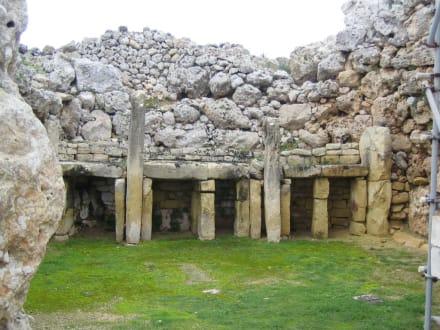 Ggantija - Ggantija Tempel