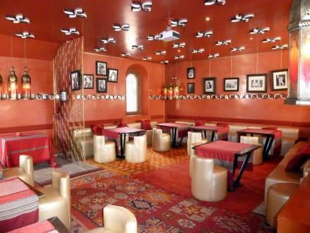 """die lounge"""" bild cafe arabe in marrakesch, Innenarchitektur ideen"""