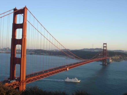 Blick auf die Golden Gate Bridge - Golden Gate Bridge