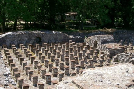 Badehaus in Díon - Ausgrabung Dion