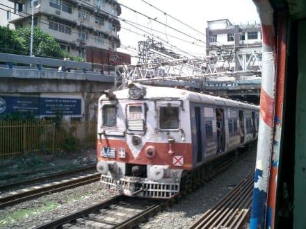 Bahnfahrt - Bombay