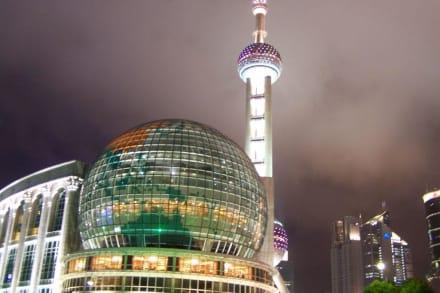 Shanghai am Abend - Oriental Pearl Tower
