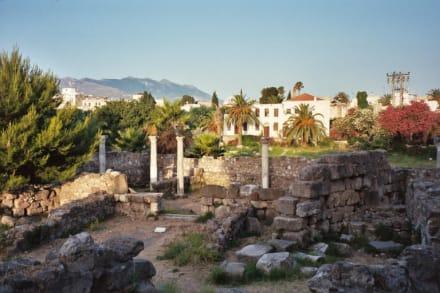 Kos Stadt, Antikes Zentrum (Agora) - Ausgrabung Kos Stadt