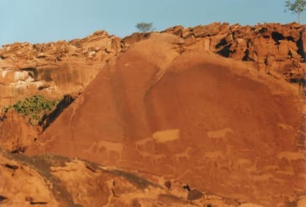 Twyfelfontain - Felsengravuren - Felsengravuren