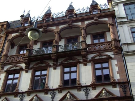 schöne Fassade in der Gr. Ulrichstr. - Halle