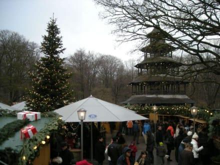 Weihnachtsmarkt im Englischen Garten - Weihnachtsmarkt Chinesischer Turm