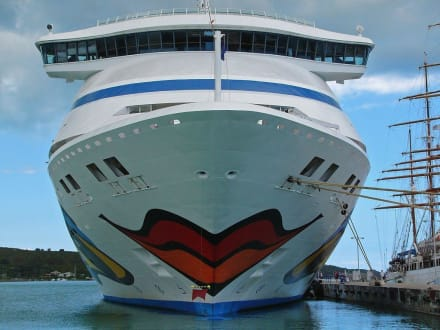 AIDA-Vita - Hafen St. John's