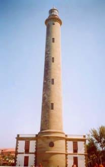 Gran Canaria Maspalomas Leuchtturm von hinten - Leuchtturm