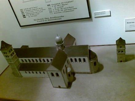 Bad Hersfeld: Modell der Stiftsruine - Stadtmuseum