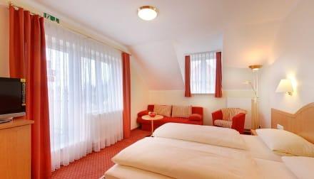 Doppelzimmer - Hotel Kriemhild am Hirschgarten