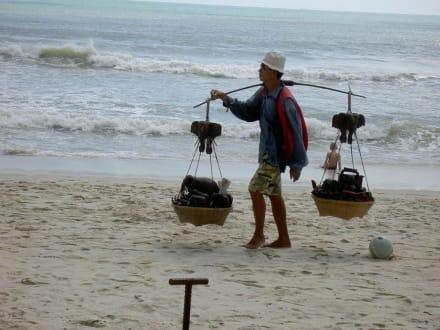 Strandverkäufer - Strand Chaweng