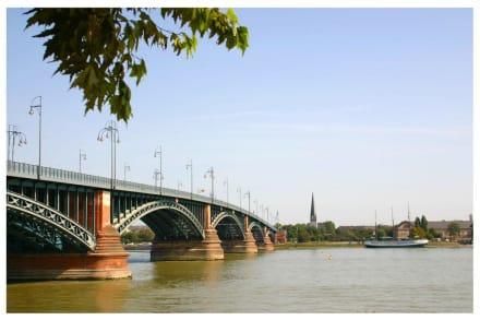 Theodor-Heuss-Brücke über den Rhein - Theodor-Heuss-Brücke