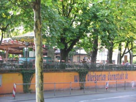 Biergarten Aussenansicht - Biergarten Darmstadt