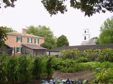 Bauerngarten in Ostkanada - Upper Canada Village