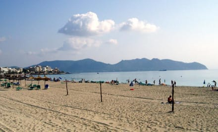 Leerer Strand von Cala Millor - Strand Cala Millor